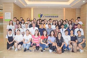 广东省VB-MAPP语言行为里程碑培训班在我院召开